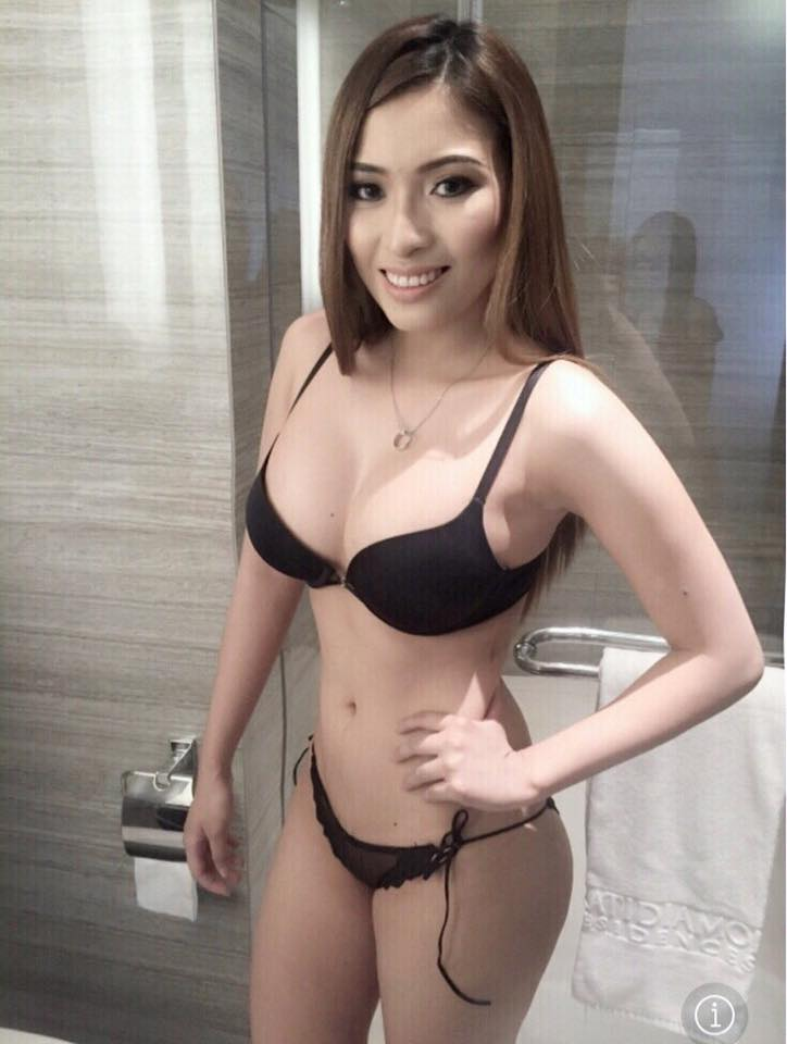 Sexy pinay wearing lingerie